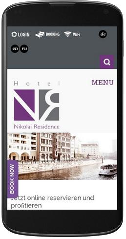 Referenz Hotel Nikolai Residence