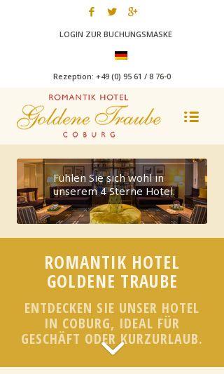 Goldene Traube nach Relaunch mobil