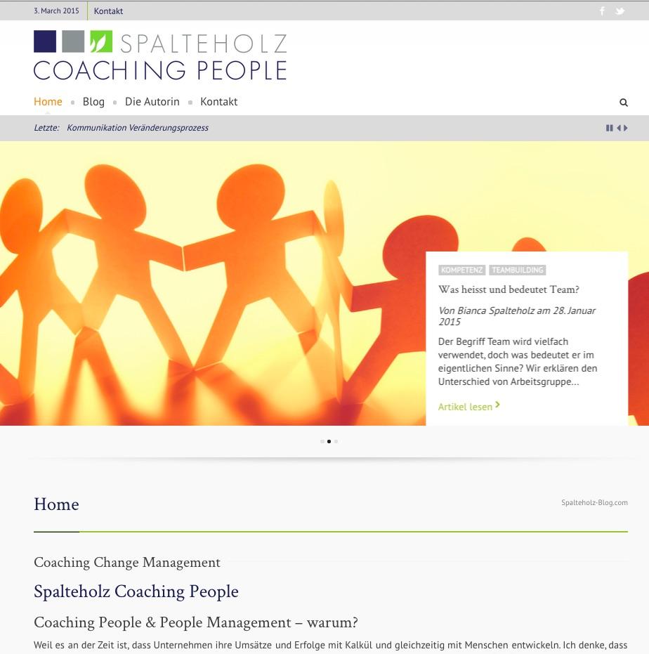 Spalteholz Corporate Blog